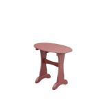 Cherry Oval End Table